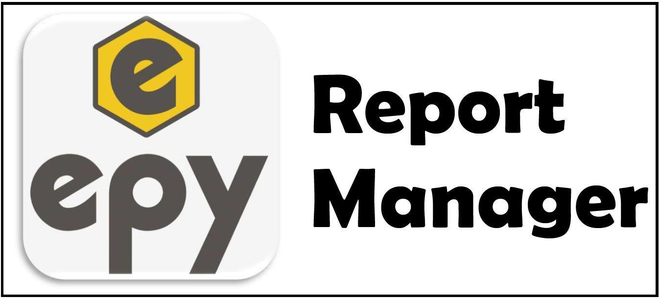 EPY Raporlama Yöneticisi Modülü